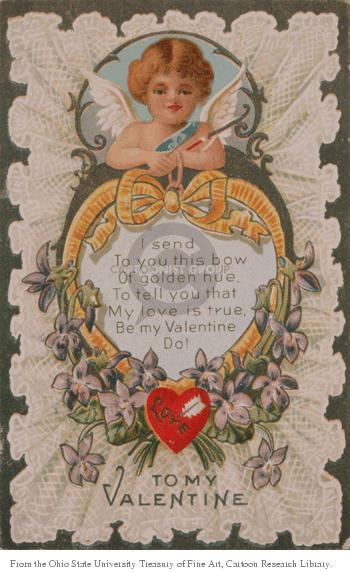 Cartoonist Ohio State Cartoon Library & Museum  Ohio State Cartoon Library & Museum 1910-00-00 arrow of love