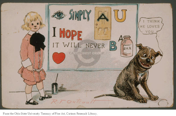 Cartoonist Ohio State Cartoon Library & Museum  Ohio State Cartoon Library & Museum 1900-00-00 affectionate