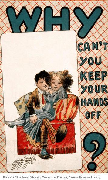 Cartoonist Ohio State Cartoon Library & Museum  Ohio State Cartoon Library & Museum 1916-00-00 affectionate