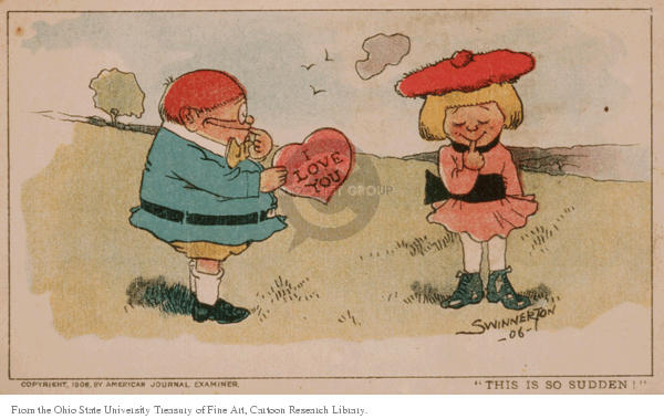 Cartoonist Ohio State Cartoon Library & Museum  Ohio State Cartoon Library & Museum 1906-00-00 romantic