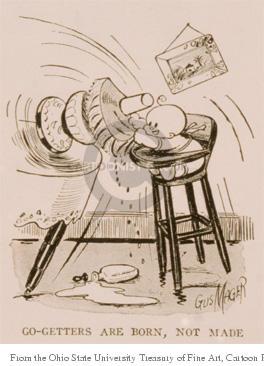 Cartoonist Ohio State Cartoon Library & Museum  Ohio State Cartoon Library & Museum 1900-00-00 infant