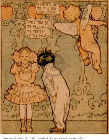 Cartoonist Ohio State Cartoon Library & Museum  Ohio State Cartoon Library & Museum 1906-02-11 Winsor