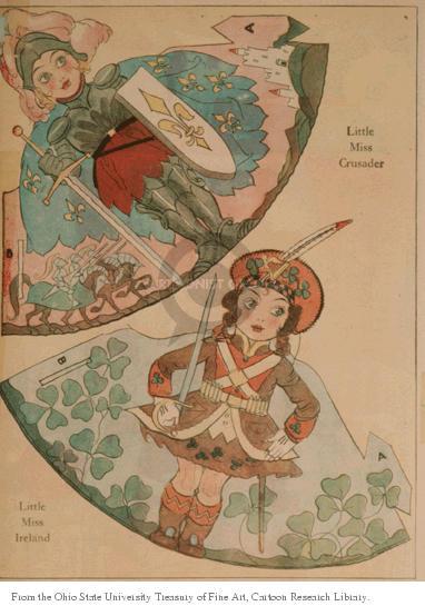 A.  Little Miss Crusader.  B.  Little Miss Ireland.