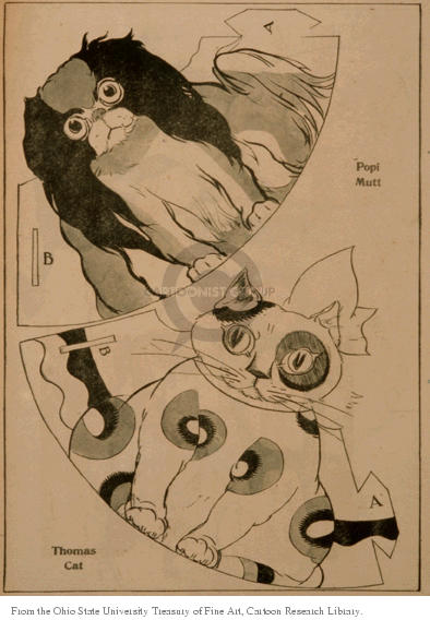 Cartoonist Ohio State Cartoon Library & Museum  Ohio State Cartoon Library & Museum 1922-11-22 cut-out
