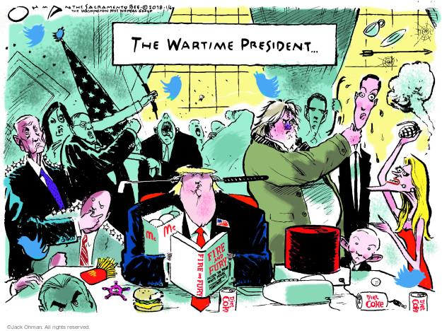 Jack Ohman  Jack Ohman's Editorial Cartoons 2018-01-06 Jared Kushner