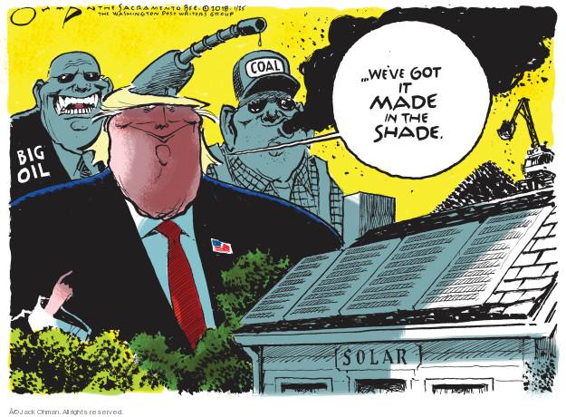 Jack Ohman  Jack Ohman's Editorial Cartoons 2018-01-25 tariff