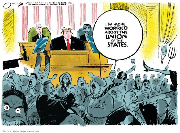 Jack Ohman  Jack Ohman's Editorial Cartoons 2018-01-31 administration