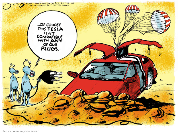 Cartoonist Jack Ohman  Jack Ohman's Editorial Cartoons 2018-02-08 isn't