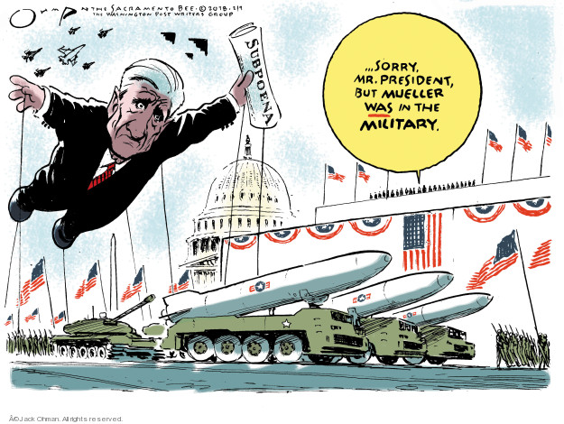 Jack Ohman  Jack Ohman's Editorial Cartoons 2018-02-09 special counsel
