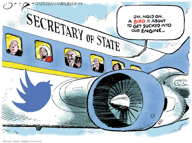 Jack Ohman  Jack Ohman's Editorial Cartoons 2018-03-15 administration