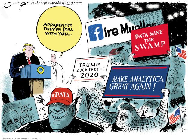 Jack Ohman  Jack Ohman's Editorial Cartoons 2018-03-20 mining