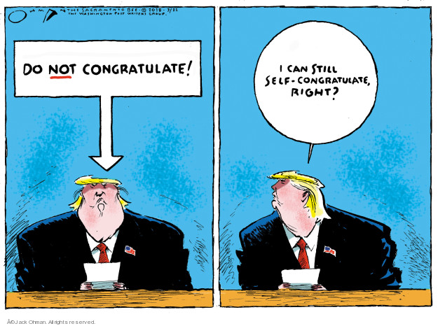 Cartoonist Jack Ohman  Jack Ohman's Editorial Cartoons 2018-03-22 interference