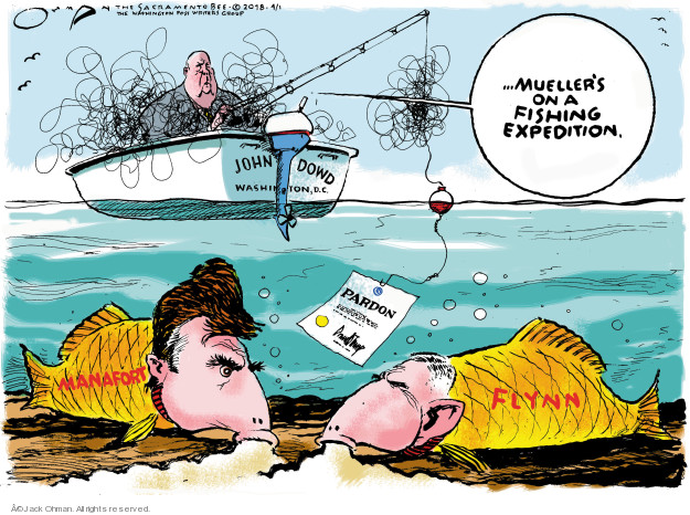 …Muellers on a fishing expedition. John Dowd. Washington, D.C. Pardon. Manafort. Flynn.