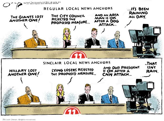 Cartoonist Jack Ohman  Jack Ohman's Editorial Cartoons 2018-04-03 dog