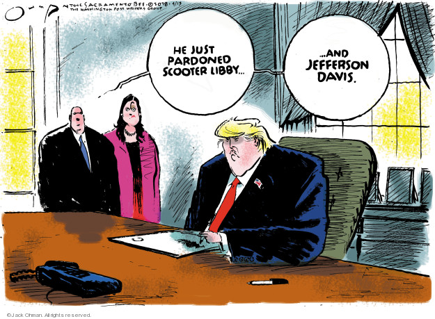 Jack Ohman  Jack Ohman's Editorial Cartoons 2018-04-14 lawyer