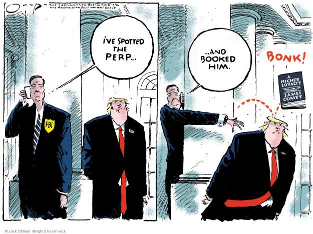 Jack Ohman  Jack Ohman's Editorial Cartoons 2018-04-16 administration