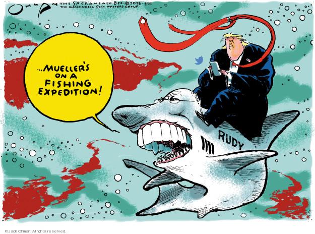 Cartoonist Jack Ohman  Jack Ohman's Editorial Cartoons 2018-04-25 Rudy Giuliani