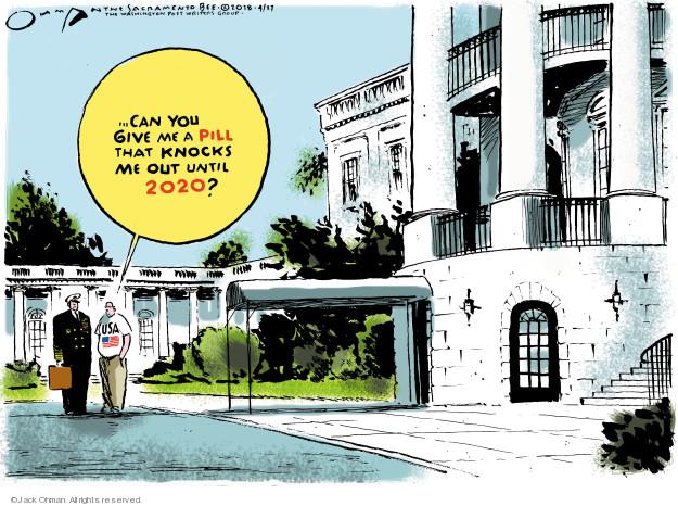 Jack Ohman  Jack Ohman's Editorial Cartoons 2018-04-27 administration
