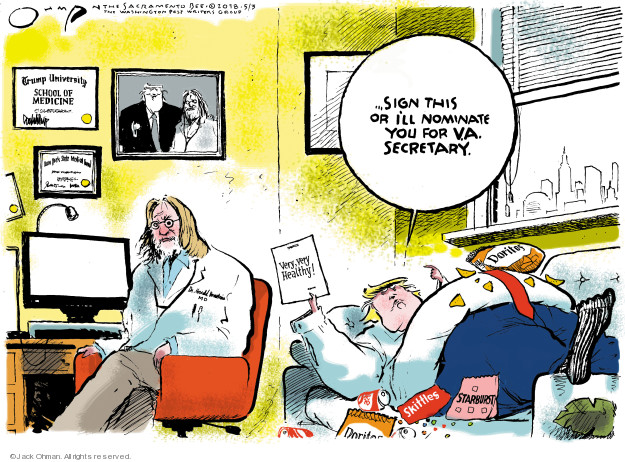 Jack Ohman  Jack Ohman's Editorial Cartoons 2018-05-03 Trump University