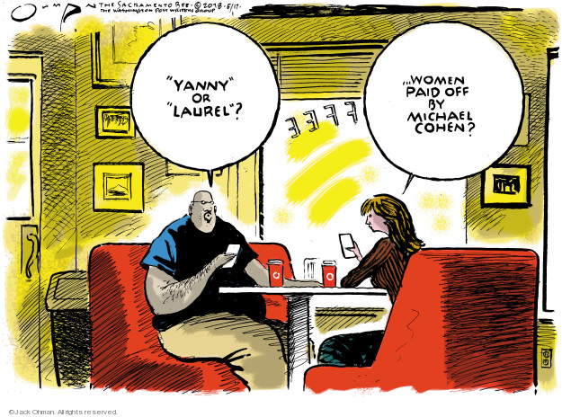Cartoonist Jack Ohman  Jack Ohman's Editorial Cartoons 2018-05-17 settlement