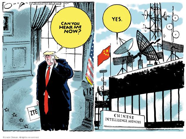 Cartoonist Jack Ohman  Jack Ohman's Editorial Cartoons 2018-05-18 Presidency
