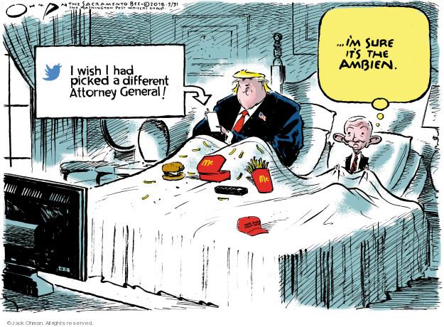 Jack Ohman  Jack Ohman's Editorial Cartoons 2018-05-31 attorney general