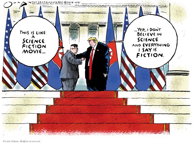 Jack Ohman  Jack Ohman's Editorial Cartoons 2018-06-13 negotiation