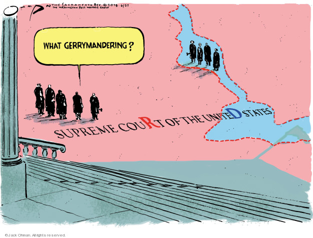 Cartoonist Jack Ohman  Jack Ohman's Editorial Cartoons 2018-06-27 liberal