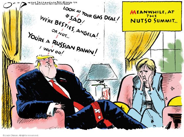 Jack Ohman  Jack Ohman's Editorial Cartoons 2018-07-12 Germany