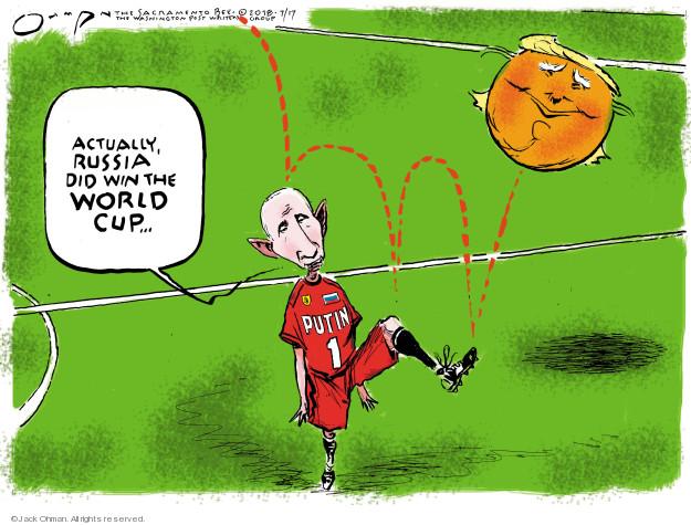 Jack Ohman  Jack Ohman's Editorial Cartoons 2018-07-17 administration