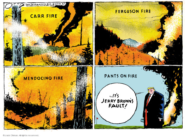 Cartoonist Jack Ohman  Jack Ohman's Editorial Cartoons 2018-08-07 change