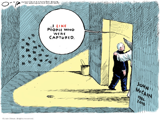 Jack Ohman  Jack Ohman's Editorial Cartoons 2018-08-26 1930s