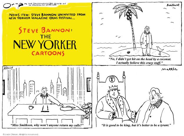 Cartoonist Jack Ohman  Jack Ohman's Editorial Cartoons 2018-09-05 good