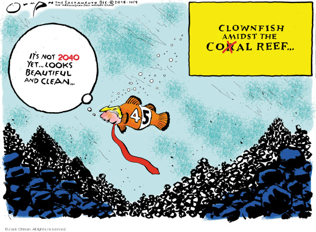 Cartoonist Jack Ohman  Jack Ohman's Editorial Cartoons 2018-10-09 change