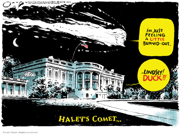 Jack Ohman  Jack Ohman's Editorial Cartoons 2018-10-10 presidential cabinet