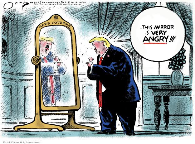 Jack Ohman  Jack Ohman's Editorial Cartoons 2018-10-26 administration