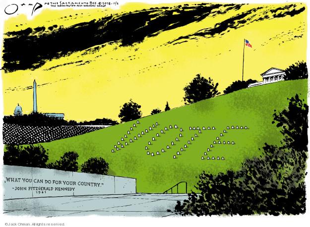 Jack Ohman  Jack Ohman's Editorial Cartoons 2018-11-06 1960s