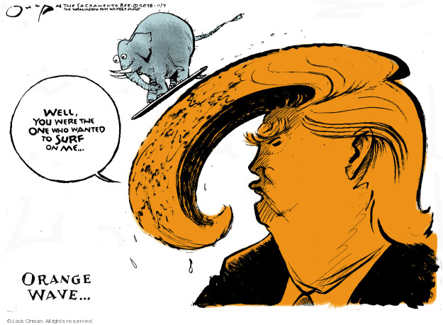 Well, you were the one who wanted to surf on me … Orange wave …