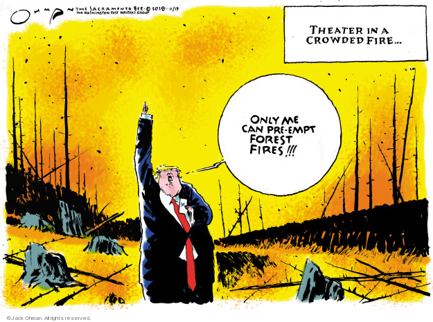Cartoonist Jack Ohman  Jack Ohman's Editorial Cartoons 2018-11-13 theater