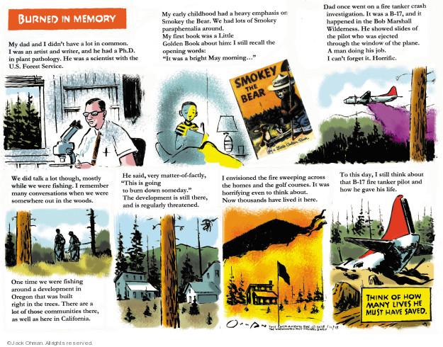 Cartoonist Jack Ohman  Jack Ohman's Editorial Cartoons 2018-11-18 book