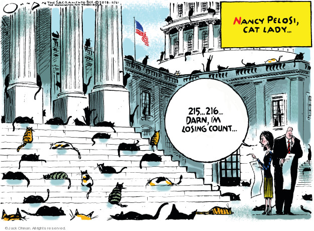 Cartoonist Jack Ohman  Jack Ohman's Editorial Cartoons 2018-11-21 herd