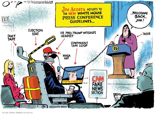Cartoonist Jack Ohman  Jack Ohman's Editorial Cartoons 2018-11-22 Jim