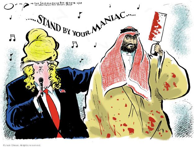 Jack Ohman  Jack Ohman's Editorial Cartoons 2018-11-23 administration