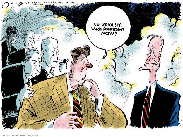 Jack Ohman  Jack Ohman's Editorial Cartoons 2018-12-05 Bush administration