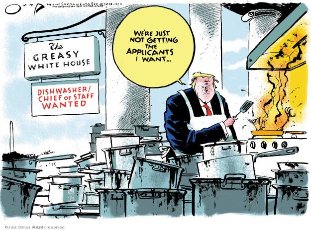 Cartoonist Jack Ohman  Jack Ohman's Editorial Cartoons 2018-12-11 editorial staff