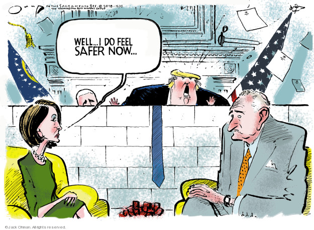 Jack Ohman  Jack Ohman's Editorial Cartoons 2018-12-12 immigration