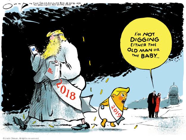 Cartoonist Jack Ohman  Jack Ohman's Editorial Cartoons 2018-12-31 Presidency