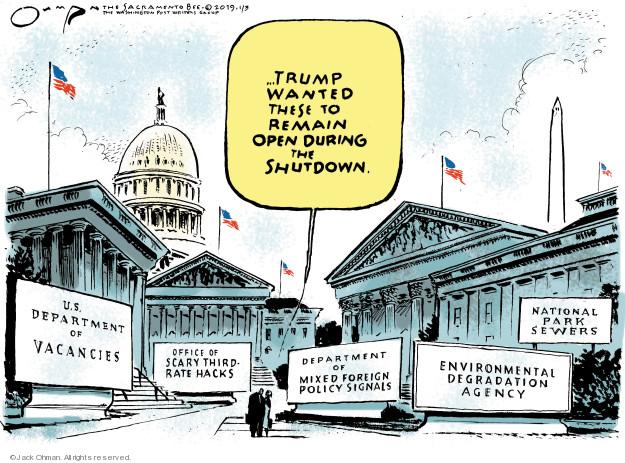 Jack Ohman  Jack Ohman's Editorial Cartoons 2019-01-03 environmental