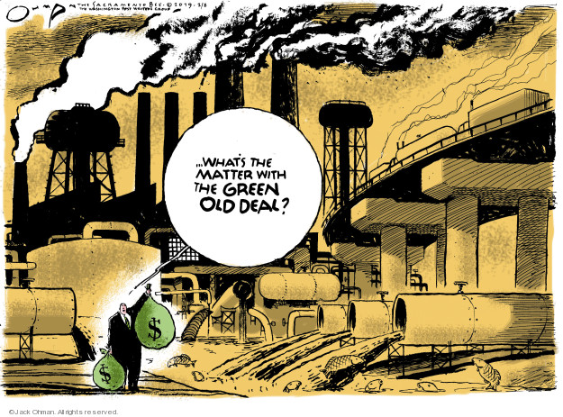 Jack Ohman  Jack Ohman's Editorial Cartoons 2019-02-08 environmental