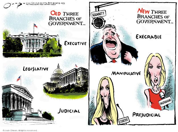 Jack Ohman  Jack Ohman's Editorial Cartoons 2019-02-13 Sean Hannity